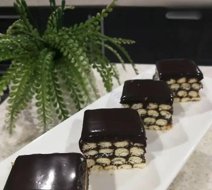 resepi kek batik viral contoh yuk Resepi Kek Coklat Vico Enak dan Mudah