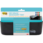 Post-it Dry Erase - Whiteboard accessory tray - black