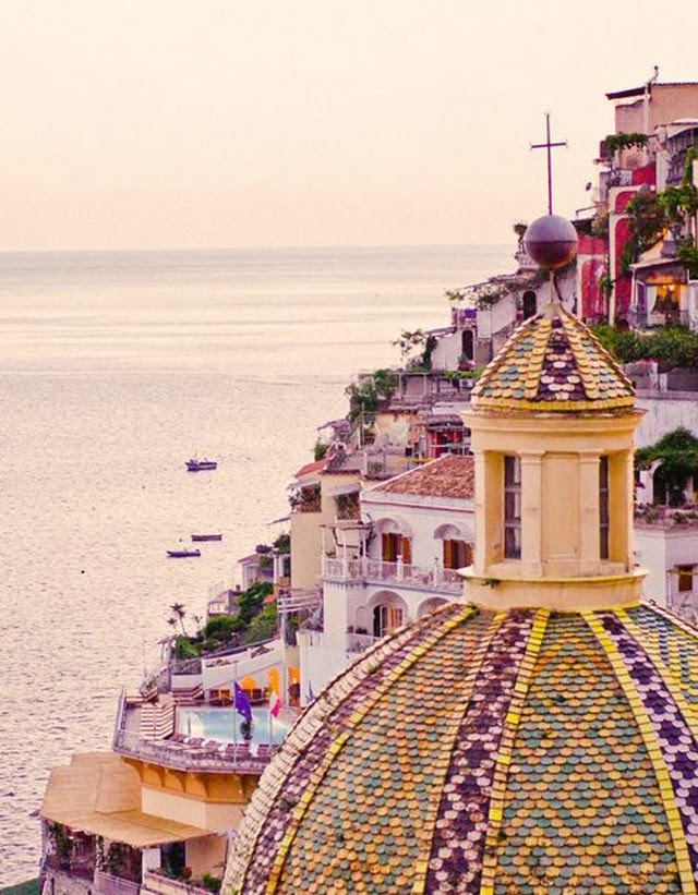Pinterest inspiration dreaming wallpaper background iphone italy positano colors sunset wonderful blog post fashion blogger turn it inside out belgium