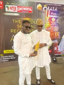 [BangHitz] Accolades As Suave Empire CEO Wins City People and Oodua Awards