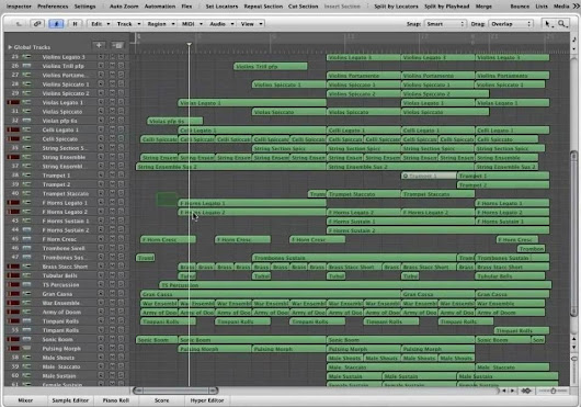"""National Day"" - Logic Pro Project Download LLP (Jon Brooks Composer)"