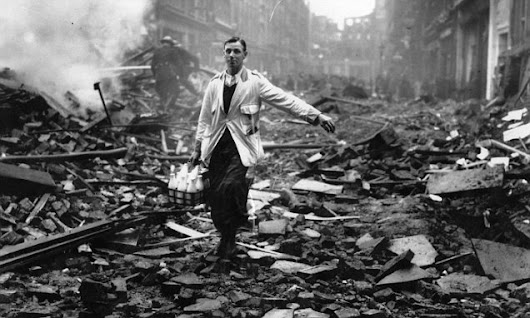 How the other side of the Blitz spirit sent Britain into a crime wave