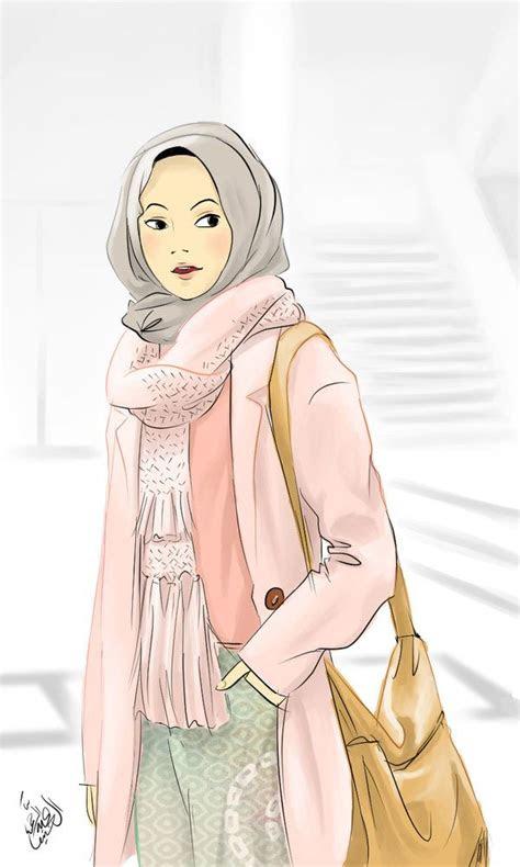 hijab casual  zenvuittondeviantartcom  atdeviantart