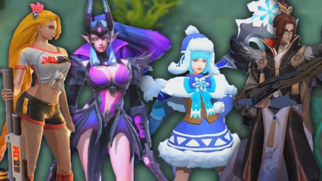 Mobile Legends Upcoming Skins 2019