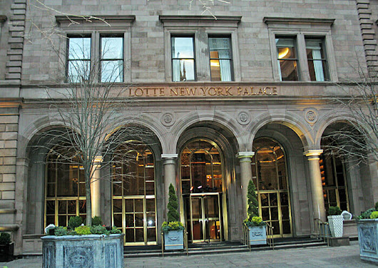 Gilded Age Elegance at the Lotte New York Palace Hotel