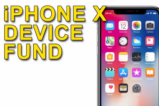 Click here to support iPhone X Device Fund organized by Dave Geekanoids