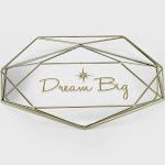 Disney Princess X POPSUGAR Tiana Dream Big Trinket Tray, Gold