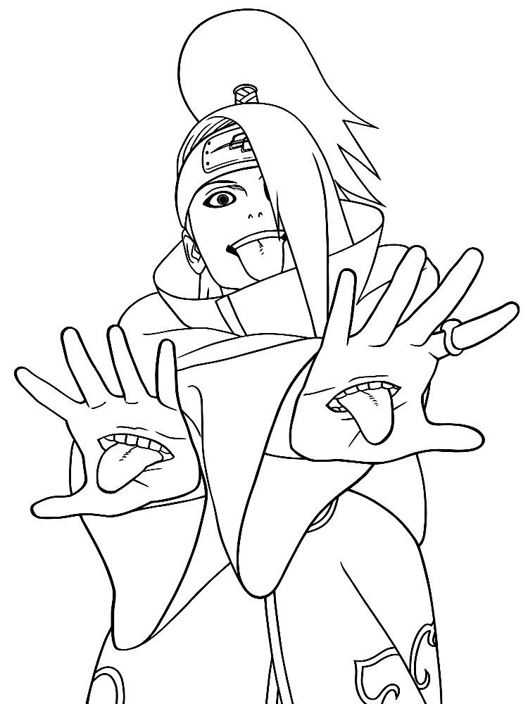 Algo útil Para Niñas Y Niños Dibujos Para Colorear Naruto