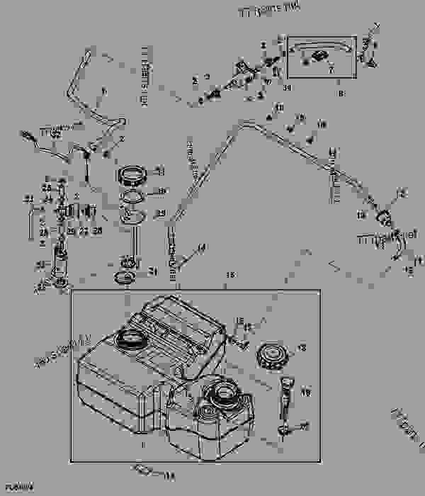 Wiring Diagram  34 John Deere Gator 825i Parts Diagram