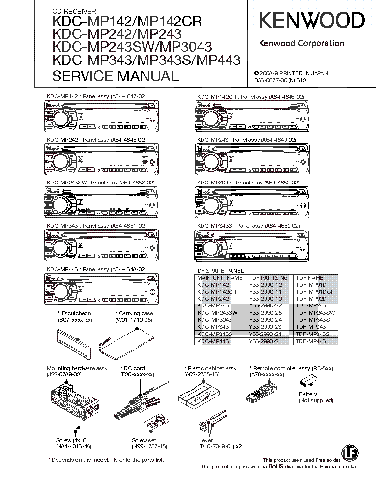 30 Kenwood Kdc Mp142 Wire Diagram