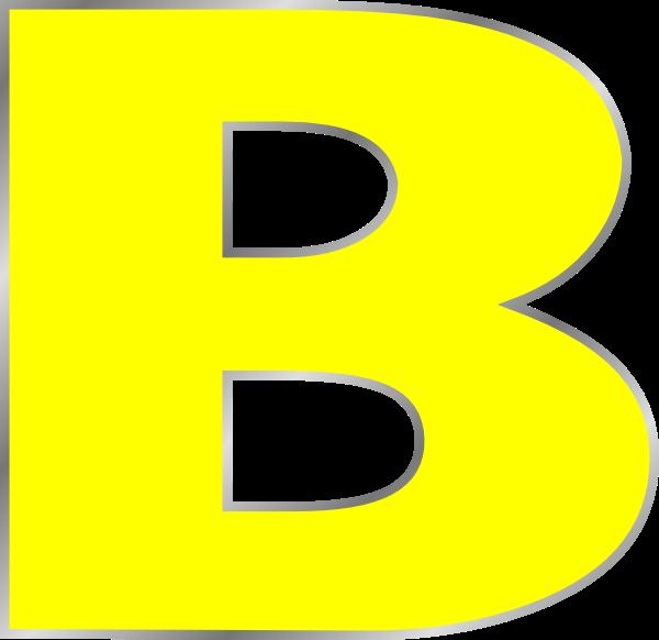 Letter B Clip Art at Clker.com  vector clip art online, royalty free \u0026 public domain