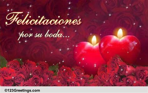 Spanish Wedding Congratulations! Free Around the World
