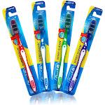Oral-B Shiny Clean Soft 35 Ergonomic Z Shaped Bristles Manual Toothbrush, Size: 12