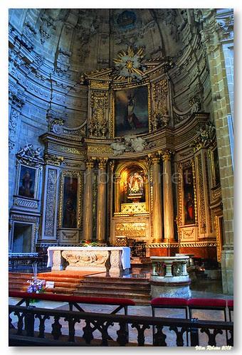 Altar-mor da basilica de santa maria by VRfoto