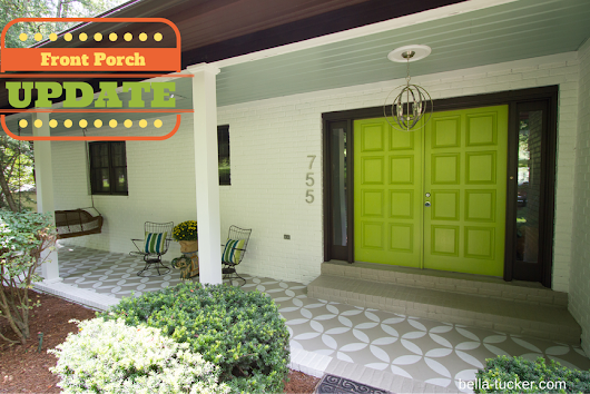 Crowdsourcing and a Front Porch Update - Bella Tucker Decorative Finishes
