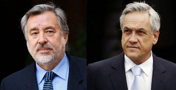 Piñera y Guillier. Foto tomada de Infinita.