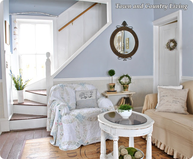 Take a Tour of My Cottage Style Farmhouse - Town & Country Living