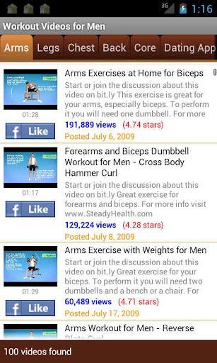 Workout Videos for Men v1.00 apk