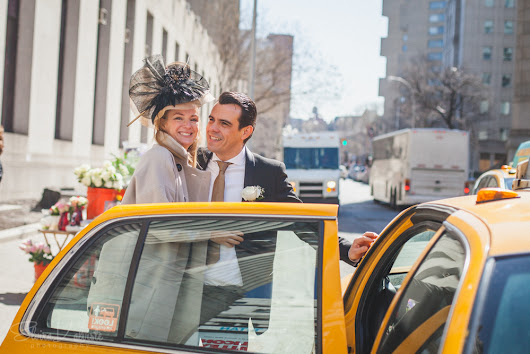 City Hall Elopement, New York City - Pam and Robin