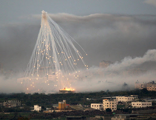 White Phosphorus Bombs