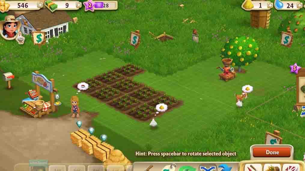 Farmville 2 Facebook GameHorse Games   Game Pictures