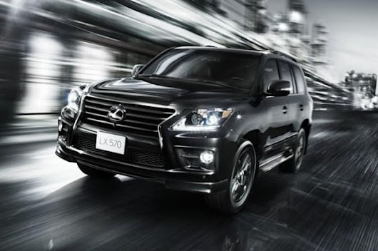 Lexus launches supercharged LX 570 in Middle East