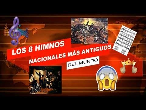 LOS 8 HIMNOS NACIONALES MÁS ANTIGUOS DEL MUNDO