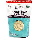 Ancient Harvest Quinoa Organic GlutenFree Quinoa Traditional 12 oz.