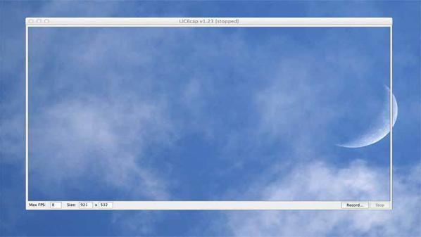 يسمح بتسجيل الشاشة ولكن على هيئة صورة متحركة وبالتالي يوفّر الكثير من المساحة على المستخدم.