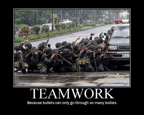 Funny teamwork posters   Teamwork Quotes