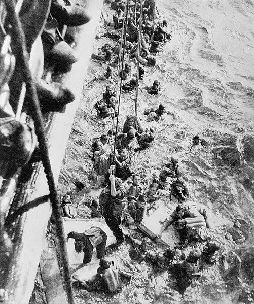 File:HMS Dorsetshire Bismarck survivors.jpg
