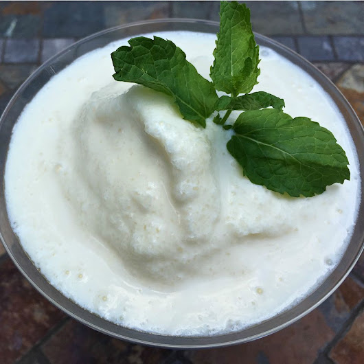 Piña Colada Ice Cream Float recipe - A Dish of Daily Life