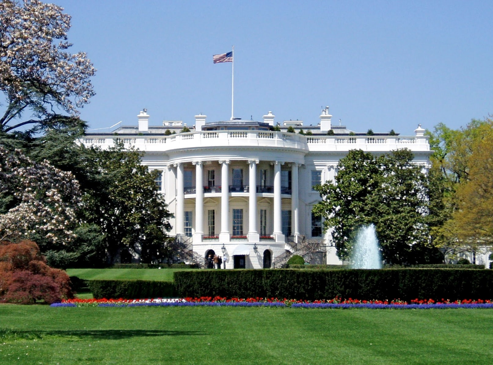 The Executive Mansion 'making the world safe for democracy.'
