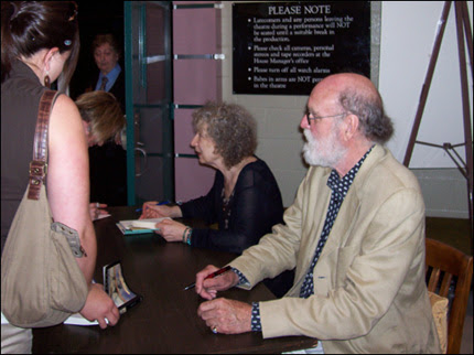Margaret Atwood & Graeme Gibson Book Signing in Stratford