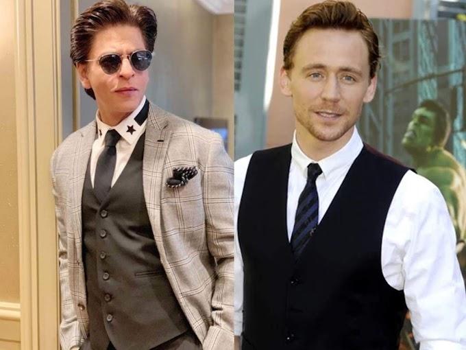 SRK responds to Tom Hiddleston's appreciation