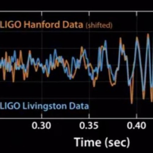 LIGO Gravitational Waves Announcement Chirp by Emily Lakdawalla