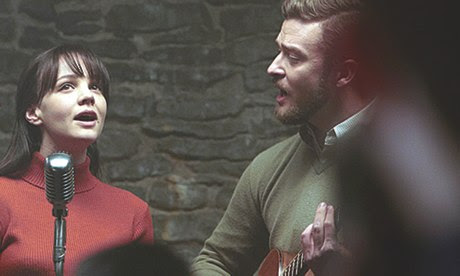 Carey Mulligan and Justin Timberlake in Inside Llewyn Davis