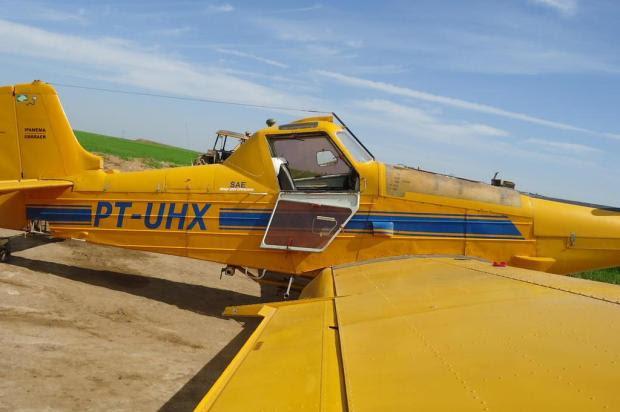 Funcionário de empresa agrícola morre atingido por hélice de avião Divulgação/Polícia Civil