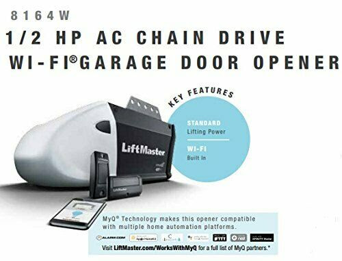 LiftMaster 1355/8065 Garage Door Opener 1/2 HP Chain Drive ...