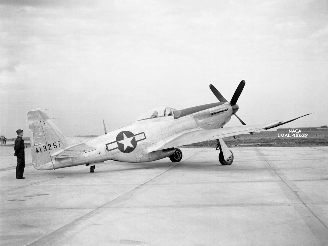 A North American P-51D Mustang