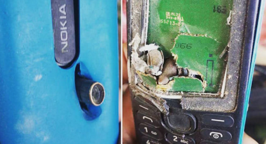 This Nokia phone saved a man's life by stopping a bullet
