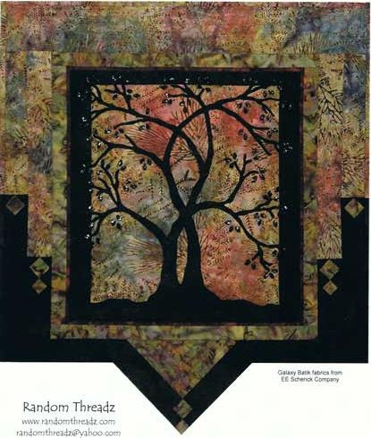 Manzanita Wall Hanging quilt kit