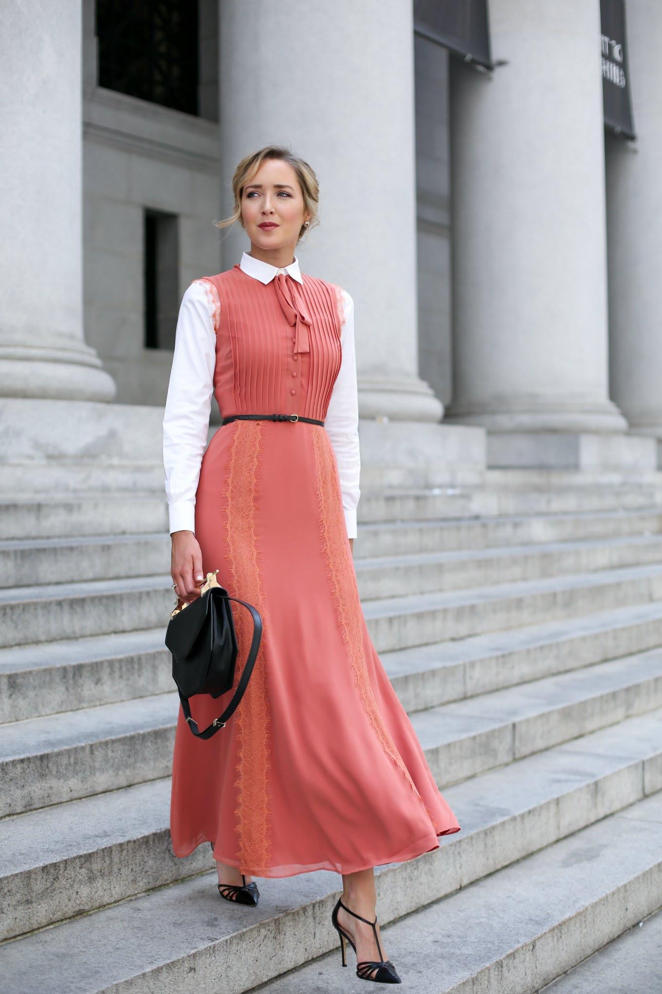 tularosa-peach-maxi-lace-bohemian-dress-neck-tie-layered-collared-button-down-shirt-professional-work-wear-office-style-fashion-blog-san-francisco-mary-orton2