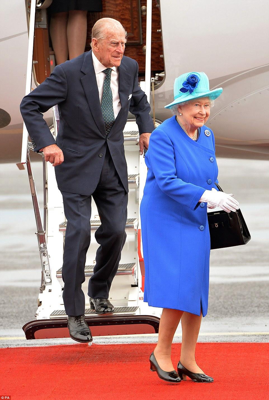 Królowa i książę Filip w Niemczech - dzień I i II.