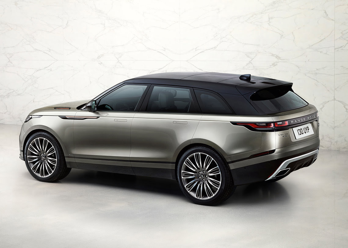 Land Rover's New Range Rover Velar Unveiled - Just British