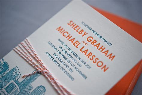 Shelby   Mike's Modern Illustrated Boston Wedding Invitations