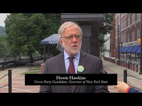 Green Party of New York State - Press Conference