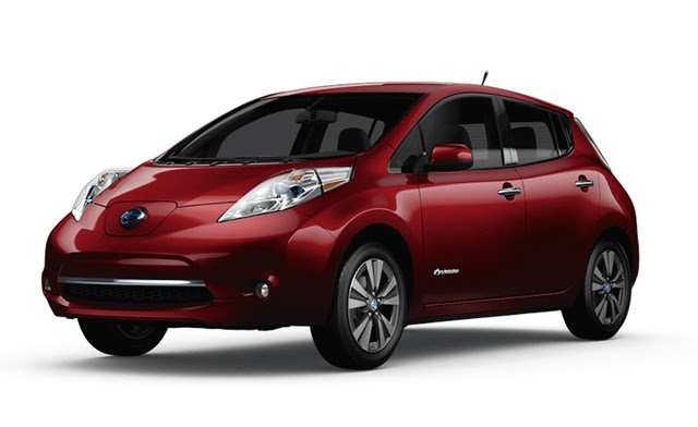 COURTESY NISSAN                                 The 2014 Nissan Leaf.