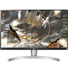 "LG - 27"" IPS LED Monitor - 4K UltraHD - Silver"