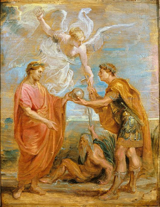 File:Sir Peter Paul Rubens - Constantius appoints Constantine as his successor - Google Art Project.jpg